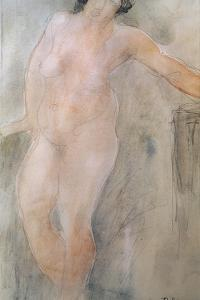 Study of a Female Nude by Auguste Rodin