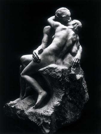The Kiss, Rodin Museum, Paris