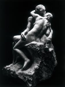 The Kiss, Rodin Museum, Paris by Auguste Rodin