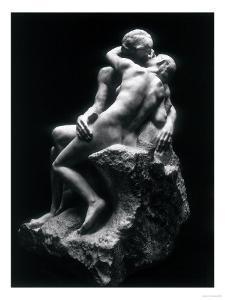 The Kiss, Rodin Museum, Paris by Auguste Rodin