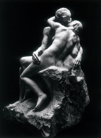 The Kiss, Rodin Museum, Paris