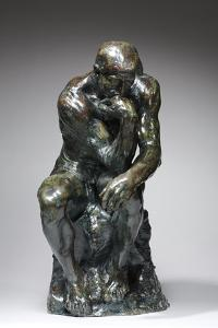 The Thinker, c.1880 (bronze) by Auguste Rodin