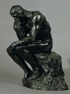 The Thinker (Le Penseur) by Auguste Rodin