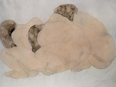 Three Boulders by Auguste Rodin