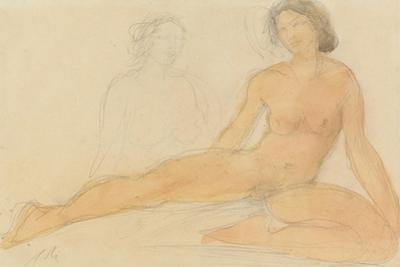 Two Seated Nudes by Auguste Rodin