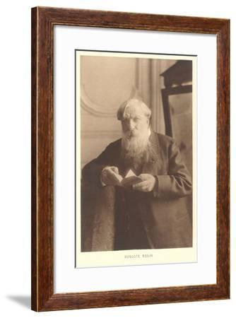 Auguste Rodin--Framed Art Print