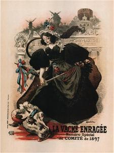 La Vache Enragee by Auguste Roedel