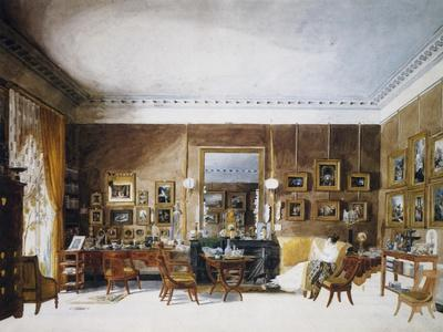 Living Room of Duchess of Berry at Tuileries