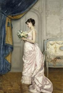 Le Billet by Auguste Toulmouche