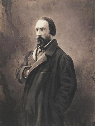 Auguste Vacquerie, C.1865-Nadar-Giclee Print