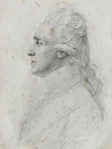 Portrait de Rochambeau by Augustin De Saint-aubin