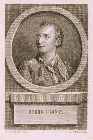 Portrait of Denis Diderot