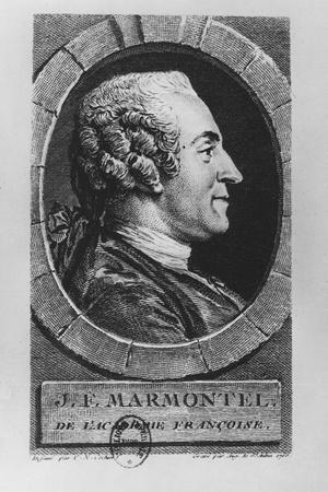 Portrait of Jean François Marmontel, 1765