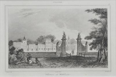 View of the Wilanów Palace, 1840