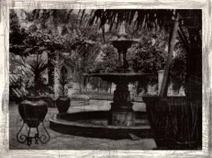 Patio Fountain in Seville by Augustine (Joseph Grassia)