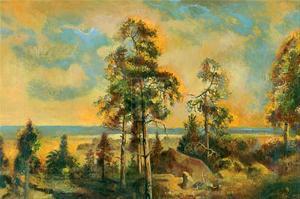 Peaceful Land by Augustine (Joseph Grassia)