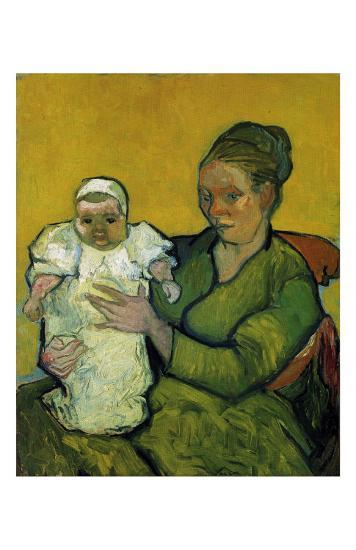 Augustine Roulin with Her Baby-Vincent van Gogh-Art Print