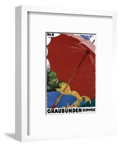 Graubunden, Schweiz by Augusto Giacometti