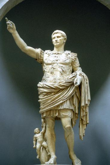 Statue of Emperor Augustus Artifact Uncovered in Basilica