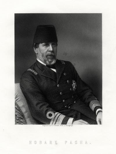 Augustus Charles Hobart-Hampden, (1822-188), English Naval Captain-George J Stodart-Giclee Print