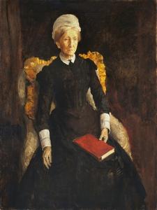 An Old Lady by Augustus Edwin John