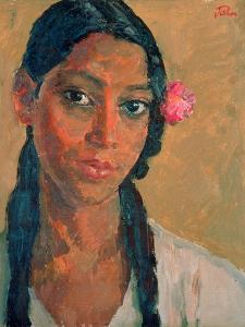Head of a Jamaican Girl by Augustus Edwin John