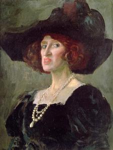Lady Ottoline Morrell, 1919 by Augustus Edwin John
