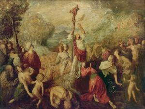 Moses and the Brazen Serpent, 1898 by Augustus Edwin John