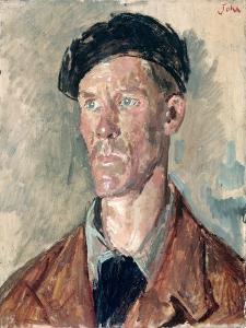 Portrait of Edwin John, C.1940 by Augustus Edwin John