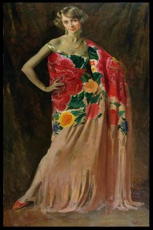 Portrait of Ethel Jacobs of Baltimore, 1927