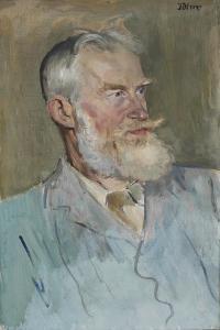 Portrait of George Bernard Shaw (1856-1950), 1915 by Augustus Edwin John