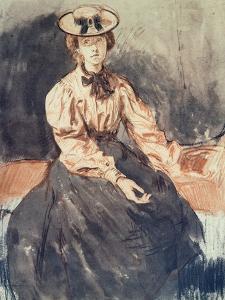 Portrait of Gwen John (1876-1939) by Augustus Edwin John