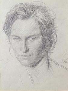 Portrait of Henry Lamb (1885-1960) C.1908 by Augustus Edwin John