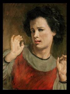 Portrait of Ida by Augustus Edwin John