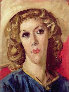 Portrait of Mavis De Vere Cole by Augustus Edwin John