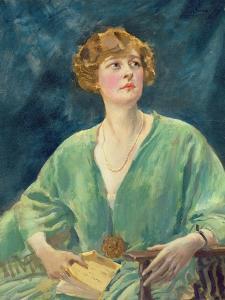 Portrait of Mrs Gribble by Augustus Edwin John