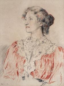 Portrait of Mrs. Limond, 1899 by Augustus Edwin John