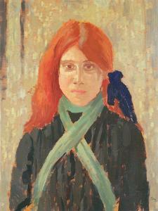 Portrait of the Mumper's Daughter, C.1914 by Augustus Edwin John