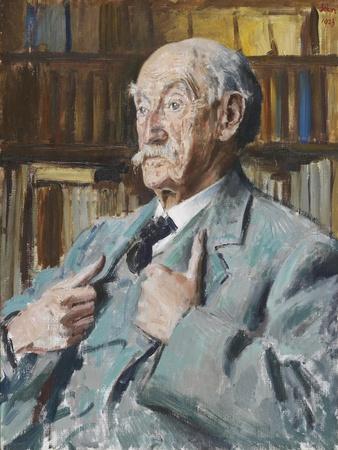 Portrait of Thomas Hardy (1840-1928), 1923