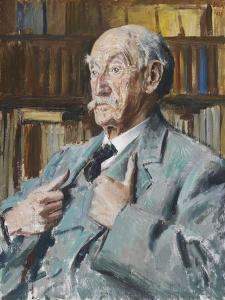 Portrait of Thomas Hardy (1840-1928), 1923 by Augustus Edwin John