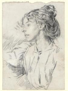 Portrait of Ursula Tyrwhitt, C.1897 by Augustus Edwin John