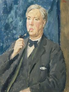 Portrait of William McElroy, 1933 by Augustus Edwin John