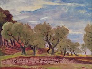 Provencal Landscape by Augustus Edwin John