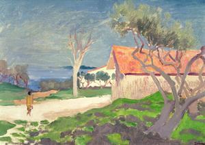 Sketch at Martigues by Augustus Edwin John