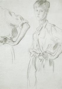 Studies of a Boy by Augustus Edwin John
