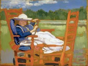 The Convalescent by Augustus Edwin John