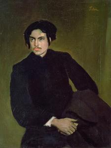 Wyndham Lewis (1882-1957) C.1905 by Augustus Edwin John