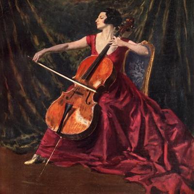 Madame Suggia, 1920-1923 by Augustus John