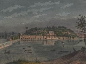 Fairmount Waterworks, Philadelphia, Pa, 1848 by Augustus Kollner