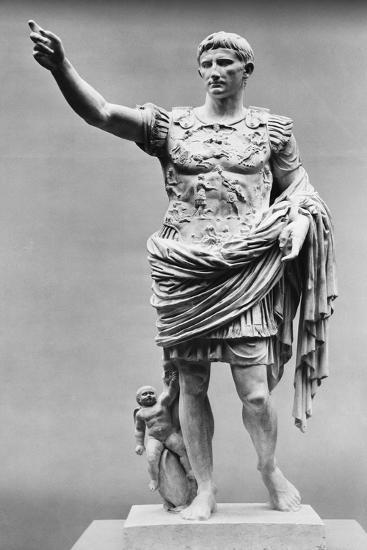 Augustus of Prima Porta Ancient Roman Statue--Photographic Print